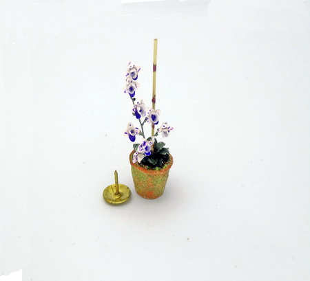 12th scale Dollhouse Miniature Orchid